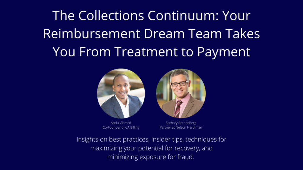 The Collections Continuum- Reimbursement Guide from Treatment to Payment